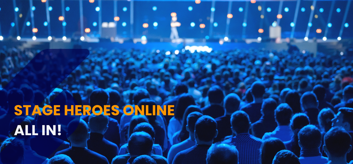 Stage Heroes Online all in presentation training